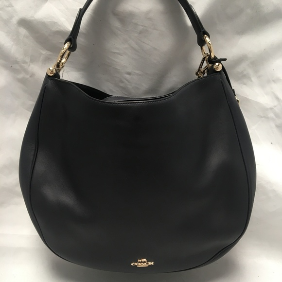 550e5267db9 ... Coach Nomad Hobo Glovetanned Leather Navy 36026 new arrival 78924 300d3  ...
